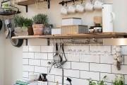 Фото 23 Рейлинги для кухни (50 фото): удобные «вешалки» для полезных мелочей