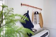 Фото 8 Рейлинги для кухни (50 фото): удобные «вешалки» для полезных мелочей
