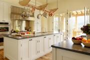 Фото 28 Рейлинги для кухни (50 фото): удобные «вешалки» для полезных мелочей