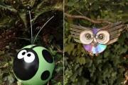 Фото 22 Необычные украшения для сада своими руками (100+ идей): оригинальные задумки и пошаговая реализация