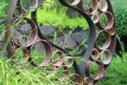 Фото 16 Необычные украшения для сада своими руками (100+ идей): оригинальные задумки и пошаговая реализация