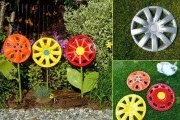 Фото 10 Необычные украшения для сада своими руками (100+ идей): оригинальные задумки и пошаговая реализация