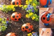 Фото 9 Необычные украшения для сада своими руками (100+ идей): оригинальные задумки и пошаговая реализация