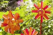 Фото 3 Необычные украшения для сада своими руками (100+ идей): оригинальные задумки и пошаговая реализация