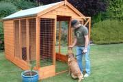 Фото 2 Делаем вольер для собаки своими руками (50 фото): что учесть и как построить