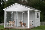 Фото 5 Делаем вольер для собаки своими руками (50 фото): что учесть и как построить