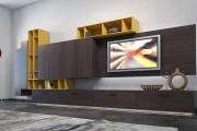 Фото 3 Мебель в гостиную под телевизор от Mr. Doors: воплощение стиля и функциональности