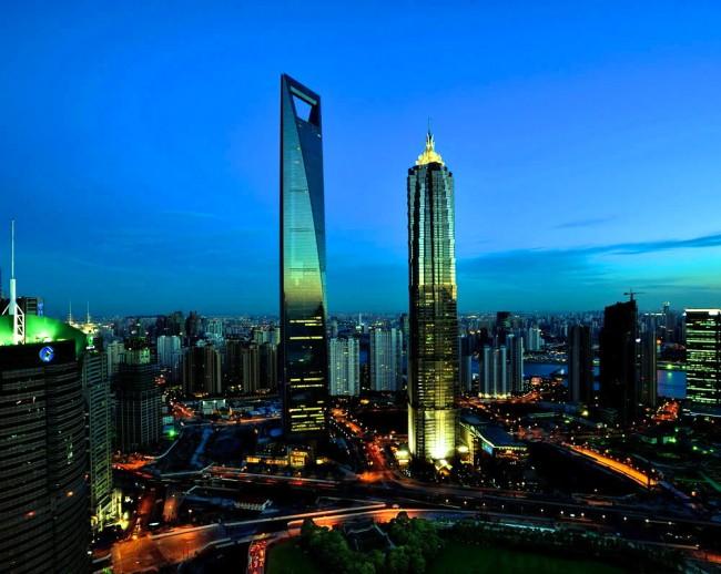 Шанхайский всемирный финансовый центр (492 м)
