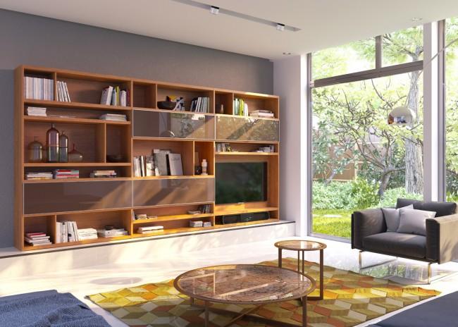 Мебель в гостиную под телевизор от Mr