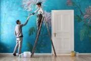 Фото 7 Роспись стен в интерьере (54 фото): оригинальный декор для квартиры