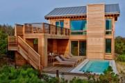 Фото 2 Деревянные дома из бруса (53 фото): проекты и их особенности