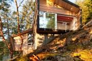 Фото 1 Деревянные дома из бруса (53 фото): проекты и их особенности