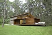 Фото 22 Деревянные дома из бруса (53 фото): проекты и их особенности