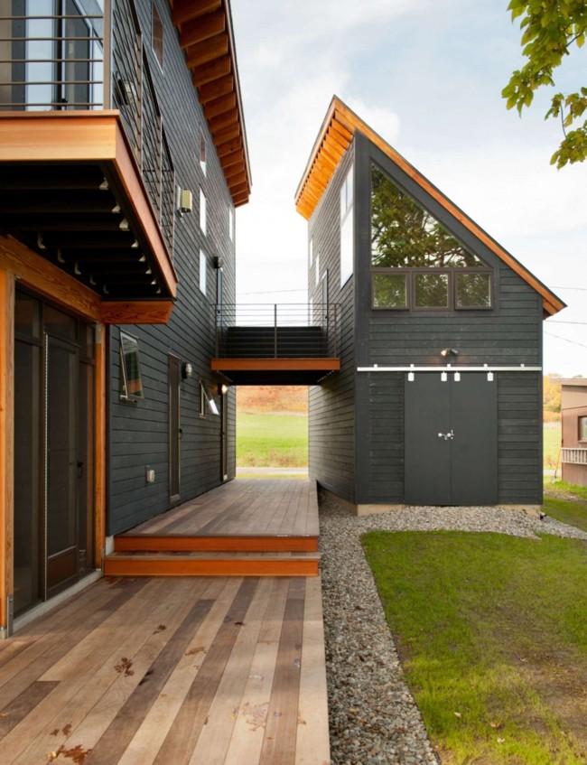 Мансарда - прекрасный пример практичного использования пространства