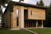 Фото 8 Деревянные дома из бруса (53 фото): проекты и их особенности