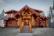 Фото 4 Дома из оцилиндрованного бревна (проекты, 57 фото): традиции и современность