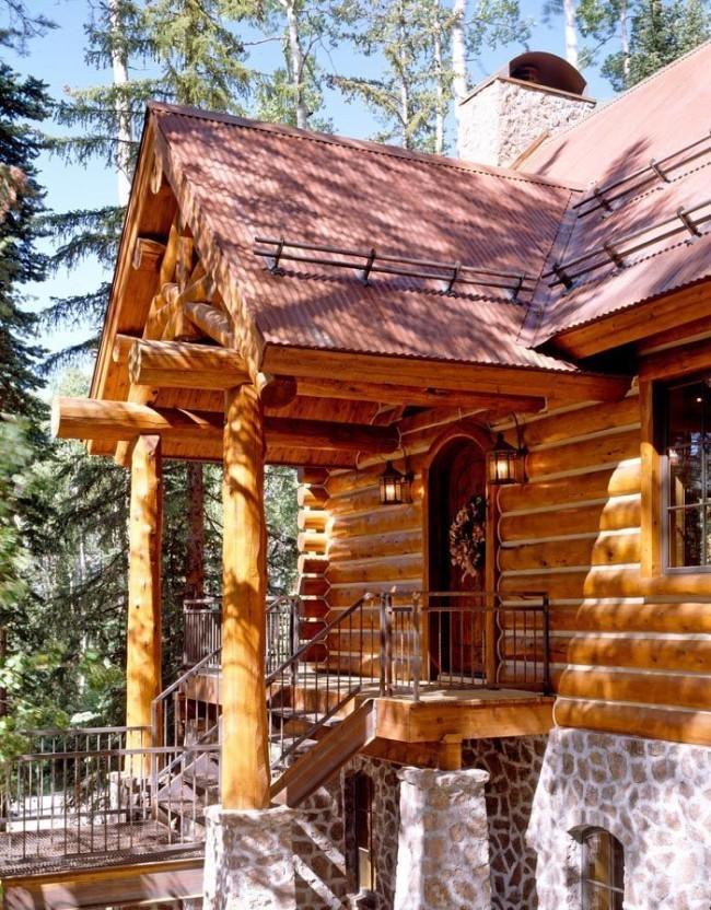 При правильном проектировании остается минимальная площадь открытых деревянных конструкций