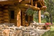 Фото 15 Дома из оцилиндрованного бревна (проекты, 57 фото): традиции и современность