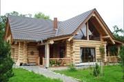 Фото 17 Дома из оцилиндрованного бревна (проекты, 57 фото): традиции и современность