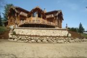 Фото 12 Дома из оцилиндрованного бревна (проекты, 57 фото): традиции и современность