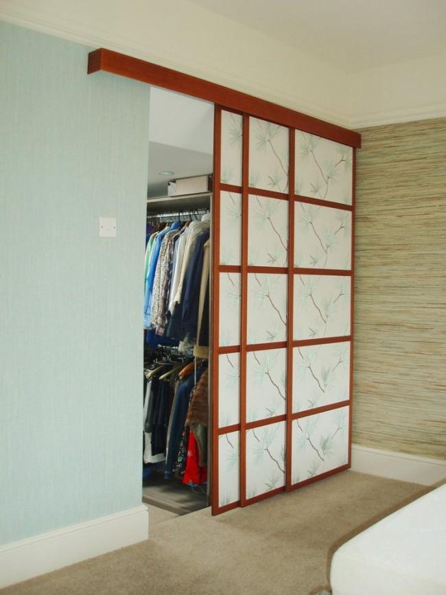 Перед покупкой дверей определитесь с местом для ваших вещей