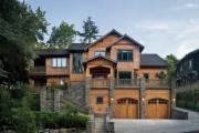 Фото 12 Комбинированные дома из камня и дерева (51 фото): проекты, преимущества, особенности строительства