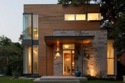 Фото 13 Комбинированные дома из камня и дерева (51 фото): проекты, преимущества, особенности строительства