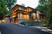 Фото 9 Комбинированные дома из камня и дерева (51 фото): проекты, преимущества, особенности строительства