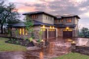 Фото 5 Комбинированные дома из камня и дерева (51 фото): проекты, преимущества, особенности строительства