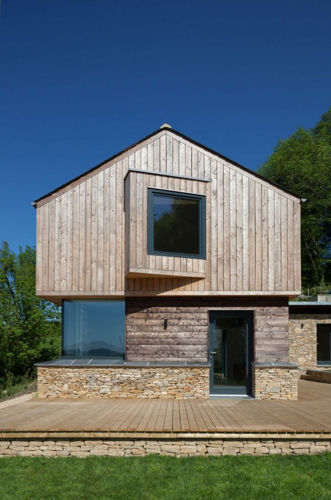 Комбинированный дом обойдется дешевле каменного