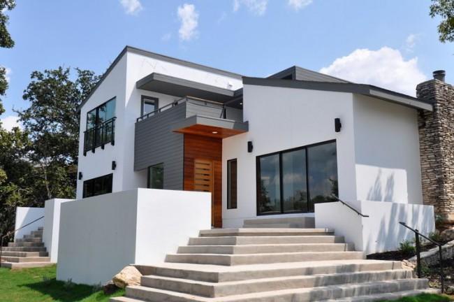 Красивый козырек подчеркнет стиль вашего дома