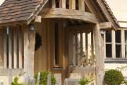 Фото 9 Как сделать козырек над крыльцом (61 фото): создаем красивый вход в дом