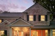 Фото 11 Как сделать козырек над крыльцом (61 фото): создаем красивый вход в дом