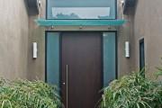 Фото 12 Как сделать козырек над крыльцом (61 фото): создаем красивый вход в дом
