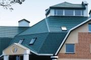 Фото 5 Крыша из металлочерепицы (56 фото): надежность, эстетичность и простота монтажа