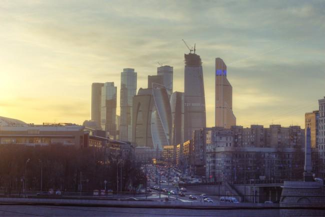 Небоскреб в московском деловом центре