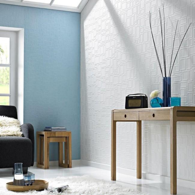 Обои под покраску дают бесценную возможность время от времени менять цвет стен с минимальными затратами и максимальным эффектом