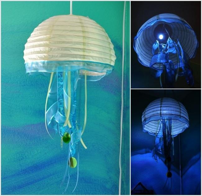 Плафон в виде медузы