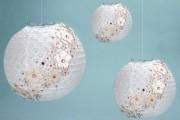 Фото 17 Плафоны для люстр своими руками: оригинальные идеи и мастер-классы по декору