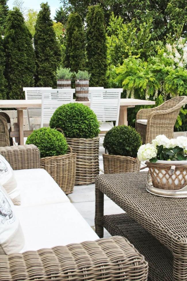 Плетеная мебель из искусственного ротанга (66 фото) – комфорт и стиль вашего дома