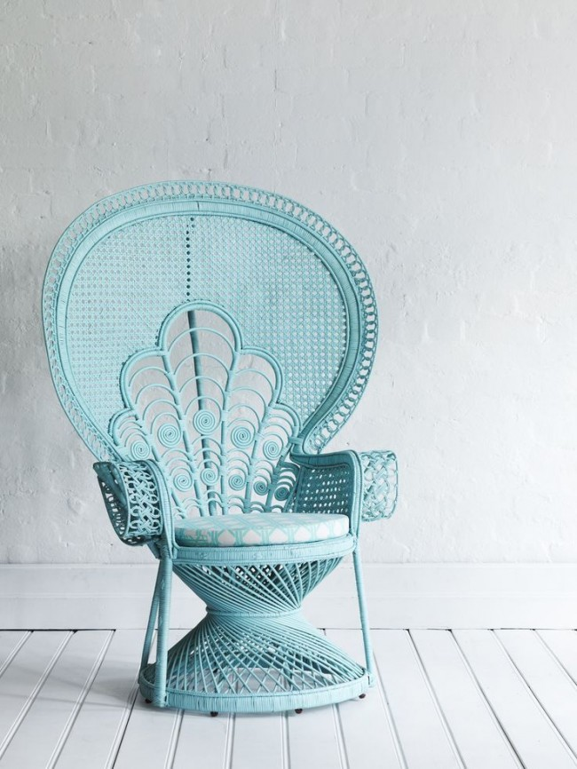 Восхитительный стул из искусственного ротанга