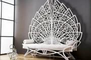 Фото 4 Плетеная мебель из искусственного ротанга (66 фото) – комфорт и стиль вашего дома