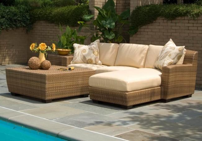 Мебель из ротанга придаст уюта вашей зоне отдыха