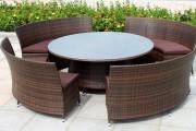 Фото 20 Плетеная мебель из искусственного ротанга (66 фото) – комфорт и стиль вашего дома