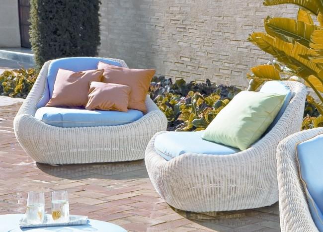Мебель из ротанга поможет создать оригинальный дизайн в доме и на даче