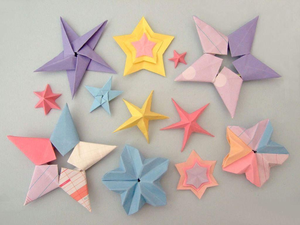 Красивые звёздочки своими руками
