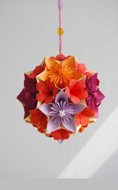 Изысканные оригами цветы и техника их выполнения