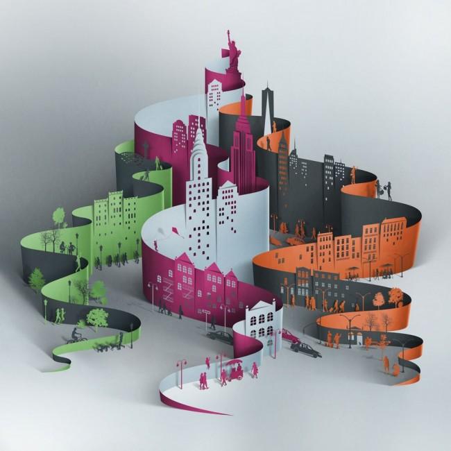 Бумажный мегаполис