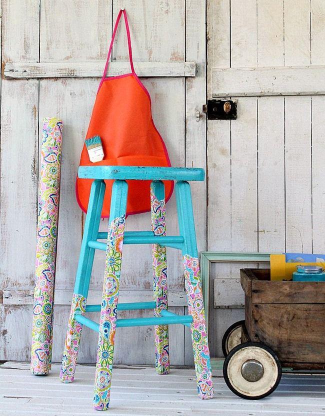 Декупаж сделает из старой невзрачной мебели яркие и эффектные элементы интерьера
