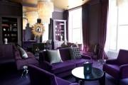 Фото 24 С какими цветами сочетается фиолетовый, лучшее его применение в интерьере
